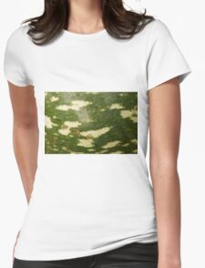 Gourd Abstract Womens Fitted T-Shirt