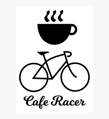 Cafe Racer Photographic Print