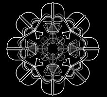 Darth Vader Kaleidoscope by DocHackenbush
