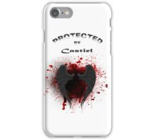 Protected By Castiel Wings iPhone Case/Skin