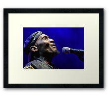 The wonderful Jimmy Cliff 2 (c)(t) by expressive photos ! Olao-Olavia by Okaio Créations   Framed Print