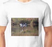 Jabiru Mating Dance Unisex T-Shirt