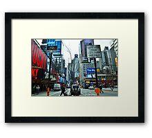 New York City Tree Framed Print