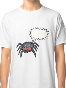 cartoon scared spider Classic T-Shirt