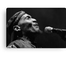 The wonderful Jimmy Cliff 2 (n&b)(t) by expressive photos ! Olao-Olavia by Okaio Créations   Canvas Print