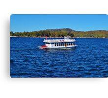 FUN DAY TOUR ON LAKE ARROWHEAD Canvas Print