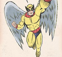 Harvey Birdman by leng