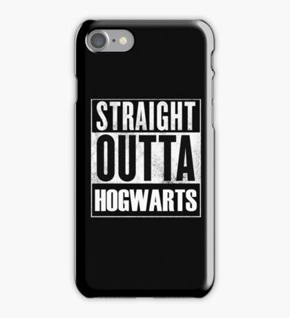 Straight outta Hogwarts iPhone Case/Skin