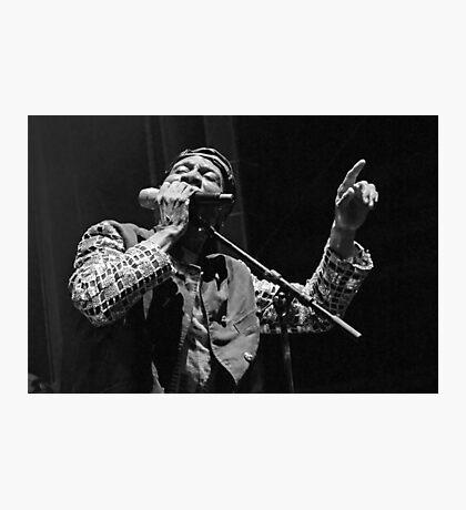 The wonderful Jimmy Cliff 3 (n&b)(t) by expressive photos ! Olao-Olavia by Okaio Créations   Photographic Print