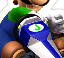 Luigi Kart Sticker