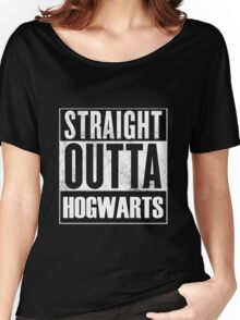 Straight outta Hogwarts Women's Relaxed Fit T-Shirt