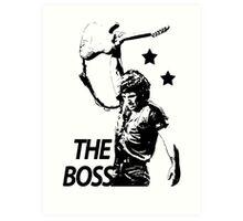 The Boss Art Print