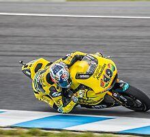 Maverick Vinales Champion Moto2 Racer by JohnKarmouche