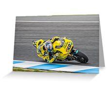 Maverick Vinales Champion Moto2 Racer Greeting Card