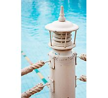 Swimming Pool Details Backgroun Photographic Print