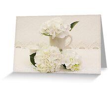 Cream And Sugar Greeting Card