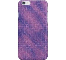 Purple and Pink Glittery Maze iPhone Case/Skin
