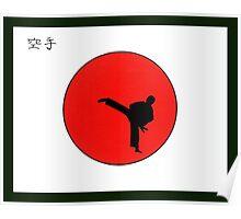 Art Of Karate Print Poster