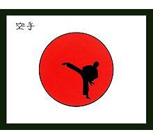 Art Of Karate Print Photographic Print