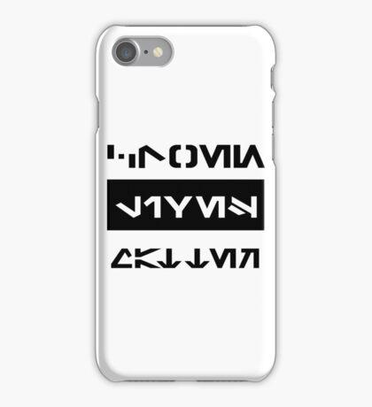Clone Lives Matter (Galactic basic) iPhone Case/Skin