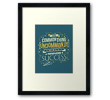 Uncommon Things Framed Print