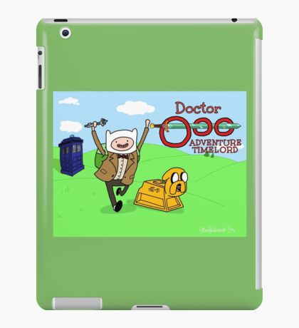 Doctor Ooo: Adventure Timelord iPad Case/Skin