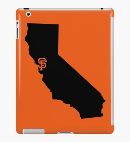 San Francisco Giants - California iPad Case/Skin