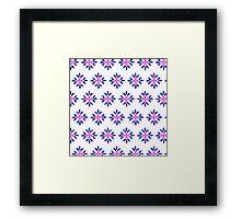 Flower designs!! Framed Print