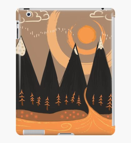 Sunny Mountain Pass iPad Case/Skin