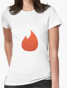 Tinder Womens Fitted T-Shirt