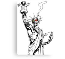 Transmetropolitan: Spider of Liberty [Transparent] Canvas Print