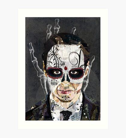 La Mano de la Muerte Art Print