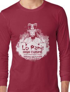 Lo Pan's High Cuisine Long Sleeve T-Shirt