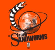 Afterlife All-Stars: The Saturn Sandworms Kids Clothes