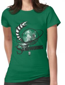 Afterlife All-Stars: The Saturn Sandworms Womens Fitted T-Shirt