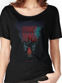 Stranger Things New Women's Relaxed Fit T-Shirt