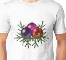Christmas tree toys art Unisex T-Shirt