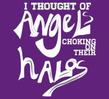 Fall Out Boy - I Thought of Angels Choking on Their Halos by sparedhearts