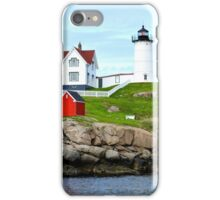 Nubble Lighthouse, York, ME 2014 iPhone Case/Skin