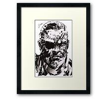 Big Boss - Metal Gear Solid Framed Print