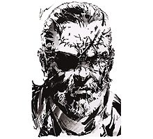 Big Boss - Metal Gear Solid Photographic Print