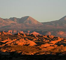 Evening over Petrified Dunes by Nathan Jekich