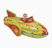 vintage rocket by Vana Shipton