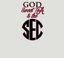 Alabama - God, Sweet Tea, & the SEC Womens Fitted T-Shirt