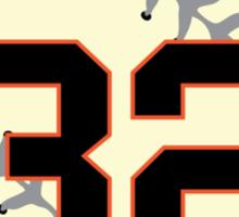 Ryan Vogelsong Baseball Design Sticker