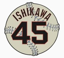 Travis Ishikawa Baseball Design Kids Clothes