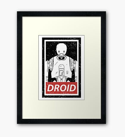 Droid Framed Print
