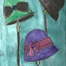 Cloche Hat Trio by RobynLee