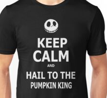 Keep Calm & Hail To The Pumpkin King Unisex T-Shirt