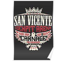 San Vicente Cockpit Arena Poster